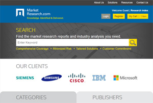 MarketResearch.com New Website Design, featured on www.blog.marketresearch.com