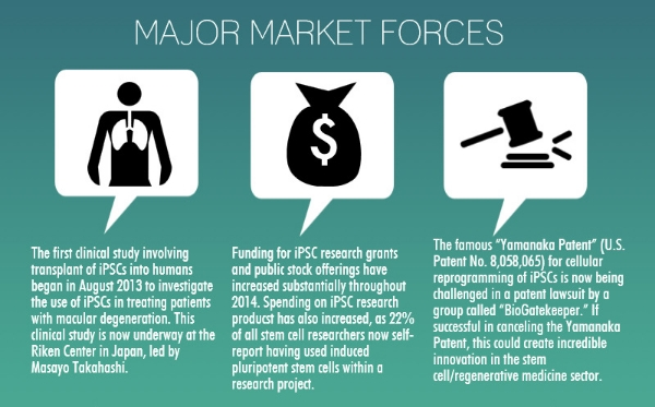 Induced Pluripotent Stem Cells (iPSC): 3 Major Market Forces (And Why You Should Care)
