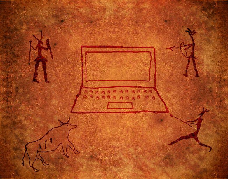 Evolution of technology.