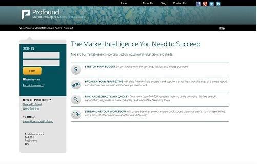 MarketResearch.com Gives Profound Platform a Facelift