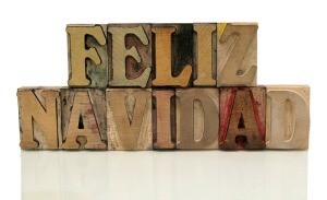 feliz navidad wooden blocks, featured on www.blog.marketresearch.com
