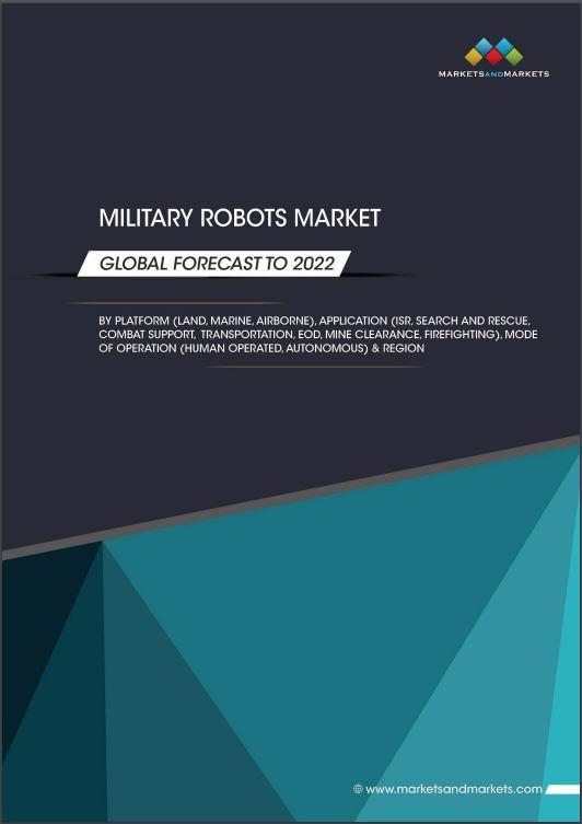 military robots report