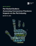 impact of coronavirus on the pet industry