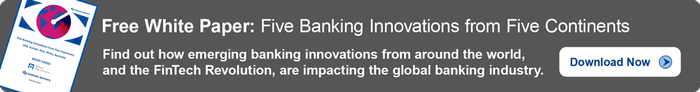 Five Banking Innovations from Five Continents White Paper, featured on www.blog.marketresearch.com