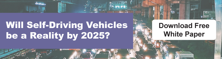 "Download ""Will Self-Driving Vehicles Be a Reality by 2025?"" White Paper"