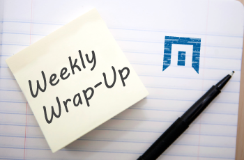 Weekly Wrap-Up: August 18, 2017